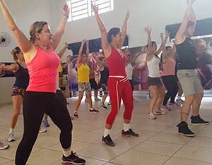 benefits of aerobics dance